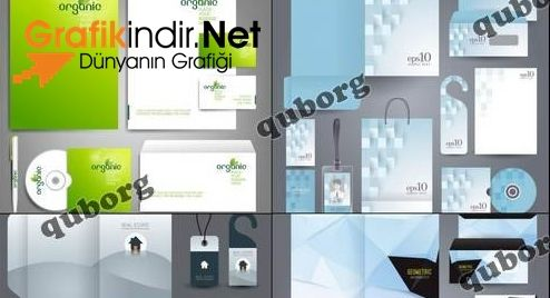 Vektörel Zarf - Dosya - CD - Anahtarlık - Kupa Şablonları İndir   Grafikindir.Net