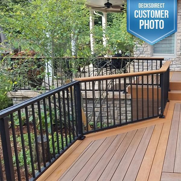 trex reveal railing - Google Search | Deck designs ...