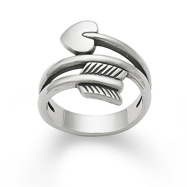 Arrow & Heart Ring #jamesavery