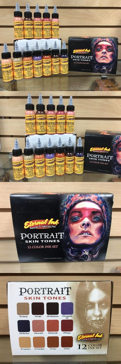 Tattoo Inks: Eternal Tattoo Ink Portrait Skin Tones 12 Color 1 Ounce Professional Set Hot! -> BUY IT NOW ONLY: $160.55 on eBay!