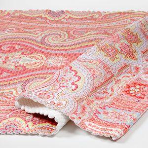 Immagine del prodotto Tappeto paisley toni corallo