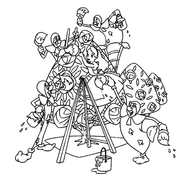 Mejores 469 imágenes de Alice in Wonderland - Disney en Pinterest ...