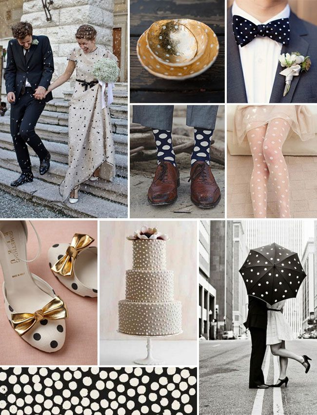 @Shannon Parkinson , too bad you can't get married again!! Don't worry, I am not doing polka dots, but maybe Laurie will want to : )  Inspiration Board #47: Lots of Dots