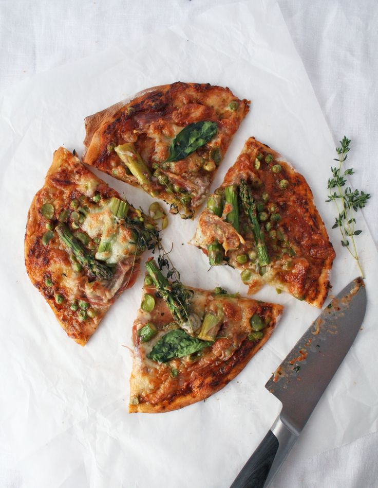 Loaded Veggie And Prosciutto Pizza Recipes — Dishmaps