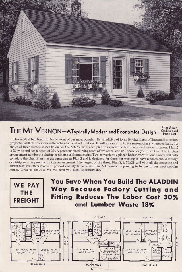 1950 small house plans - House interior