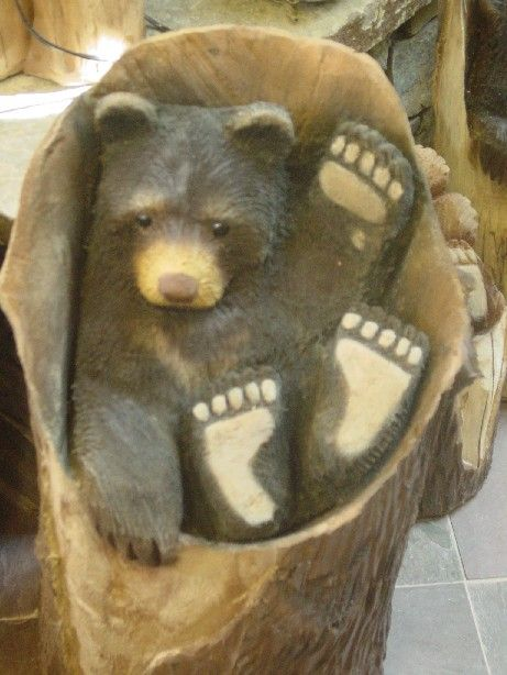 24 Best Chainsaw Carving Favorite Bear Ideas Images On
