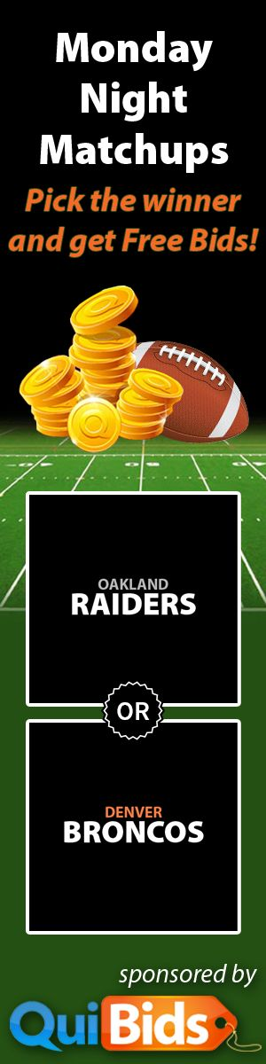 Who will win #MNF tonight?  Tell us your pick via our Facebook app and you could win #FREEBIDS!