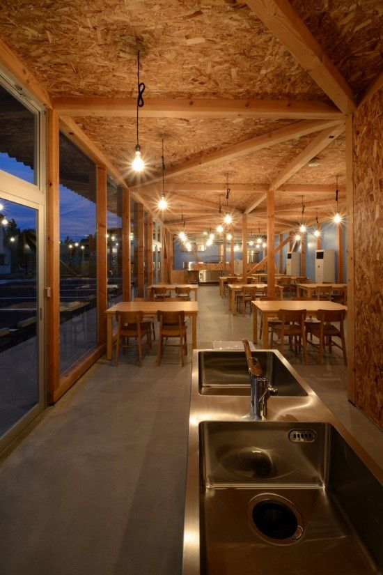 Cafeteria in Ushimado by Niji Architects - I Like Architecture