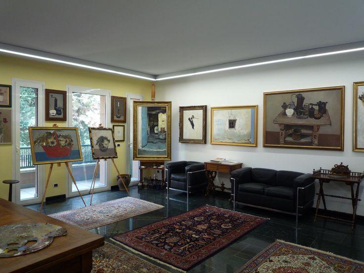 Interno Museo Angelo Vaninetti  #valmalenco #valtellina #cultura