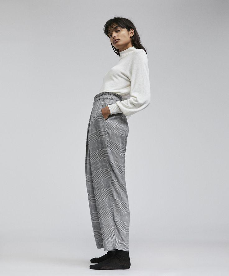 Oysho - Glen plaid trousers