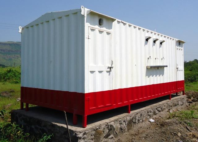 Portable Toilet Cabin — Buy Portable Toilet Cabin, Price , Photo Portable Toilet Cabin, from National Portable Cabin, Company. WC cabins on Allbiz Mumbai India