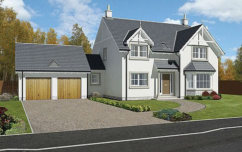Scotframe Timber Frame Homes - Timber-frame kit homes for self-build houses