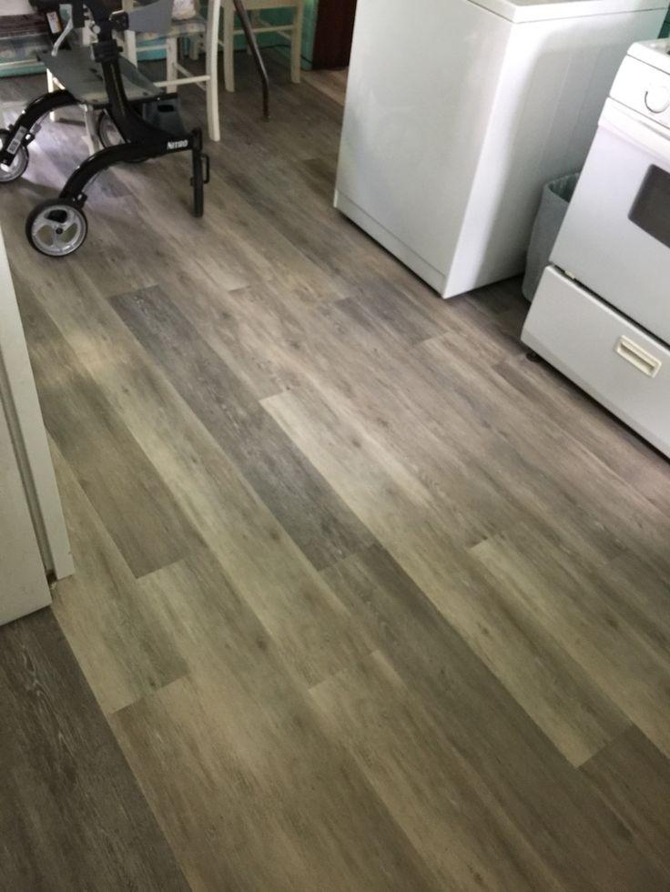 Bleached Oak Kitchen Flooring