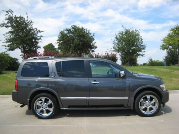 2006 infiniti qx56 with 24s cars i have owned pinterest. Black Bedroom Furniture Sets. Home Design Ideas