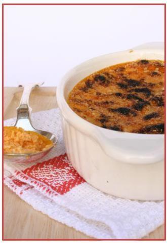 Crème brulée di zucca e parmigiano - Il Cavoletto di Bruxelles