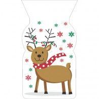 Treat Bags Cello Reindeer, Pkt20, $8.95, 20071231