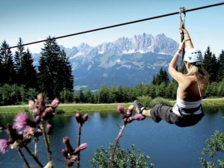 Hornpark Kletterwald - St. Johann in Tirol