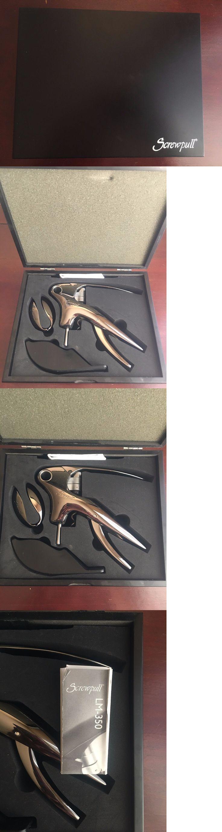 Corkscrews and Openers 20688: Screwpull Lm-350B Trigger Lever Wine Opener Set (Black Nickel) -> BUY IT NOW ONLY: $37.5 on eBay!