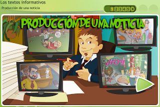 PRODUCCIÓN DE UNA NOTICIA | RECURSOS PARA NUESTRA CLASE