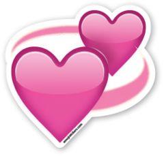 Revolving Hearts | Emoji Stickers