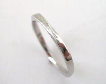 Infinity Wedding Rings Simple Platinum Gold Bands Weddings Big Ring Sizes Finger