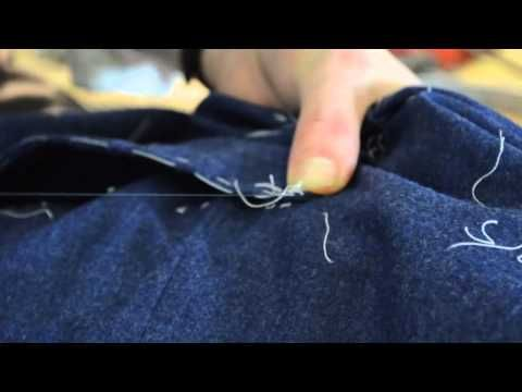 Tha Making of a Coat #19 Attaching the Sleeves - YouTube