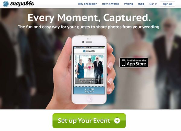 {Partner Love} Capture Every Moment with Snapable   The Budget Savvy Bride