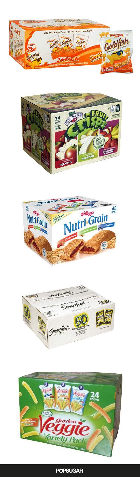 Nut-Free Snacks For Moms Who Buy in Bulk