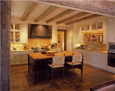 Classic Country/Rustic Kitchen by Ken Burghardt