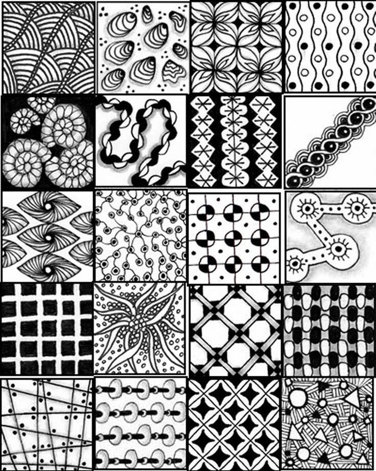 zentangle pattern sheets drawing pinterest zentangle muster zentangle und muster. Black Bedroom Furniture Sets. Home Design Ideas