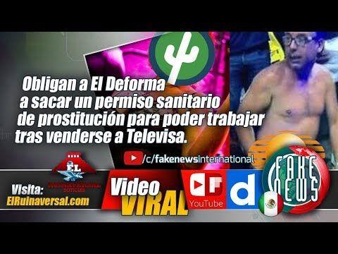 Obligan a El Deforma a sacar un permiso sanitario de prostitución para p...#México #Noticias #Viral
