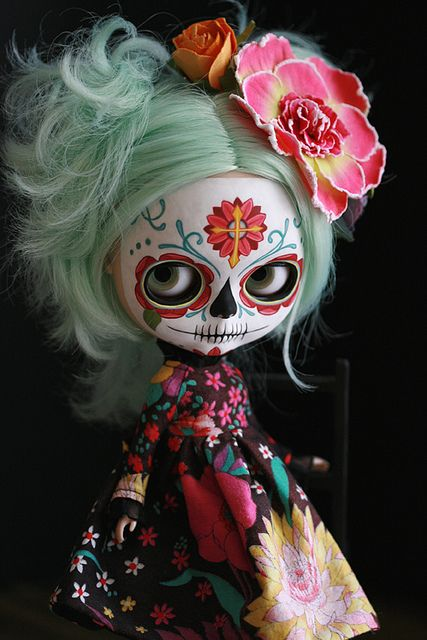 Candy Calavera by Kittytoes, via Flickr