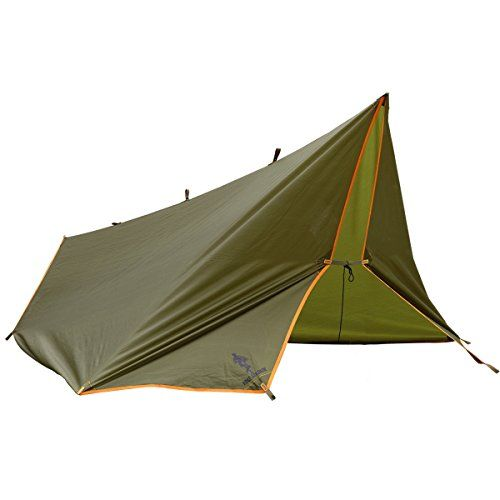 FREE SOLDIER Large Waterproof Tarp Multifunctional Outdoor Camping Traveling Rain Fly Awning Backpacking Tarp shelter Rain Tarp (Brown) - FREE SOLDIER Waterproof Tarp with 100% Quality Guaranteed!This tarp shelter is waterproof and anti-UV, quite lightweight for your camping trip. Excellent quality, strong and durable. Quite easy to setup, which save your time. Large enough to keep your hammock, clothes, gear or your kids dry when ...