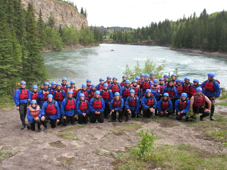 Whitewater rafting in the Horseshoe Canyon with Chinook Rafting!