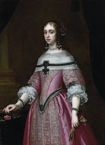 Catherine of Braganza, Queen of England by Justus Sustermans, c. mid 17th century
