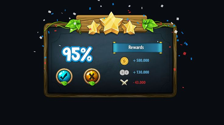 Fantasy Game Gui Pack by yuq229 on Creative Market