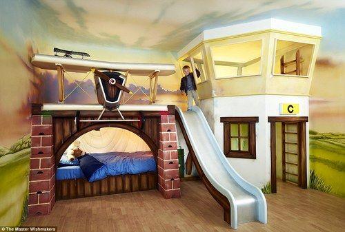 his dream bedroom