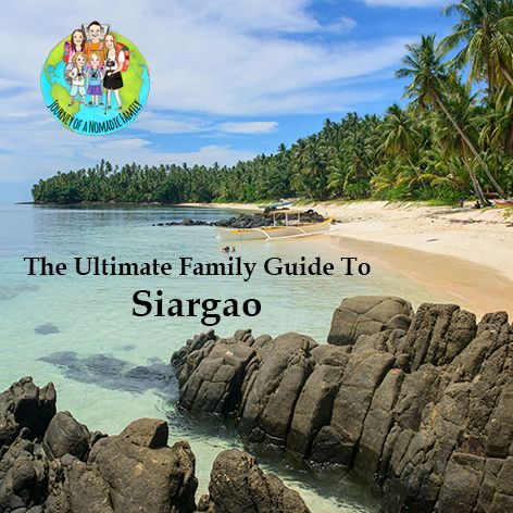 Download our FREE, Ultimate travel guide to Siargao Island here. It's a tiny island in The Philippines and a great spot for adventurous families.