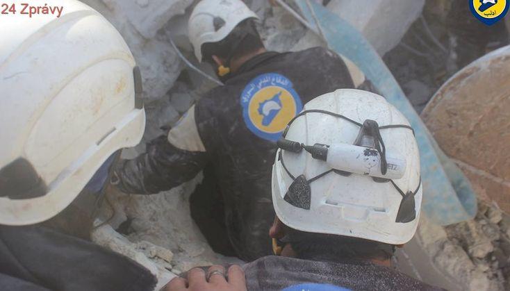 Izrael evakuoval stovky záchranářů ze západní Sýrie do Jordánska