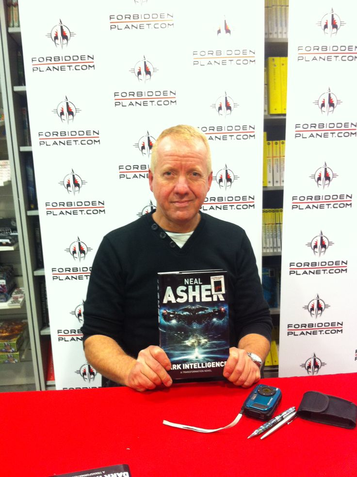 Neal Asher in London