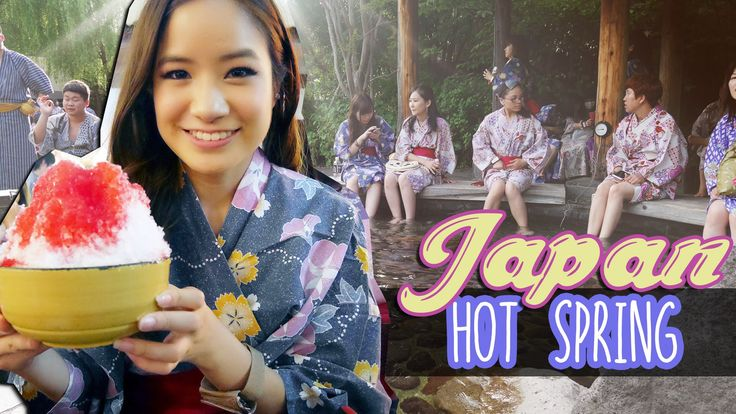 Kim Dao goes to a hotspring in Tokyo, Japan!