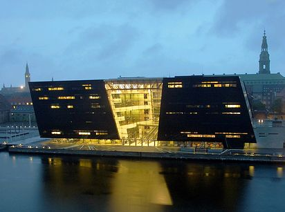 "La bibliothèque ""Royal Danish"" — Copenhague, Danemark"