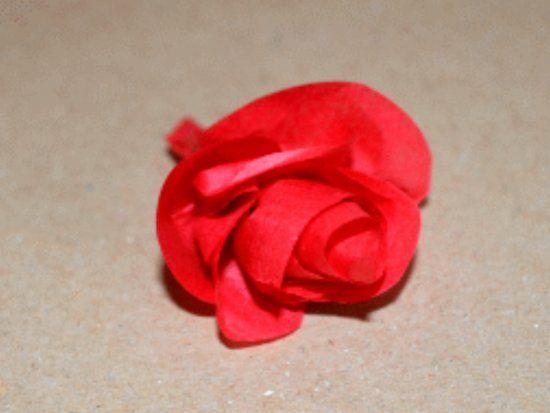 Шикарные розы из папиросной бумаги своими руками - Цветы своими руками - мастер-класс - Руками.Инфо