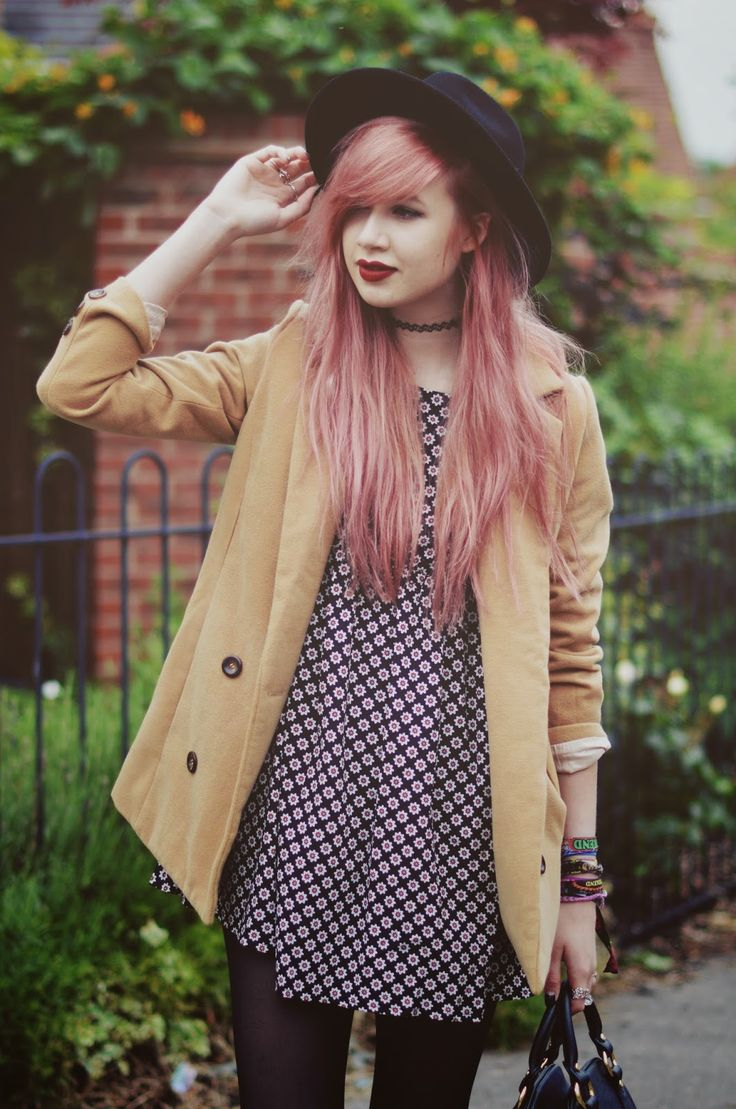 brave outfits with pink hair
