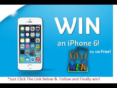 *Win A iphone 6S For 100% Free! | How To Win A iPhone 6S For Free!!  iPhone 6S For Free!!!  Just Follow This video https://youtu.be/xoVMteCNcms