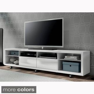 Burke 4-drawer Entertainment Center - Overstock Shopping - Great Deals on Entertainment Centers