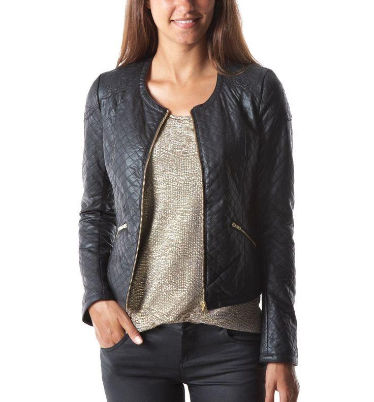 17 meilleures id es propos de vestes en faux cuir sur pinterest simili cuir noir flip et. Black Bedroom Furniture Sets. Home Design Ideas