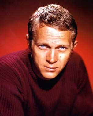 Steve McQueen Born in Beech Grove, Indiana, he was the ultra-cool male film star of the 1960s, and rose from a troubled youth spent in reform schools to being the world's most popular actor. Over 25 years after his untimely death from cancer in 1980, Steve McQueen is still considered hip and cool, and he endures as an icon of popular culture. McQueen was an avid motorcycle and racecar enthusiast.