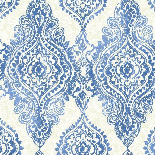 "Found it at Joss & Main - Boho Chic 27' x 27"" Damask 3D Embossed Wallpaper"