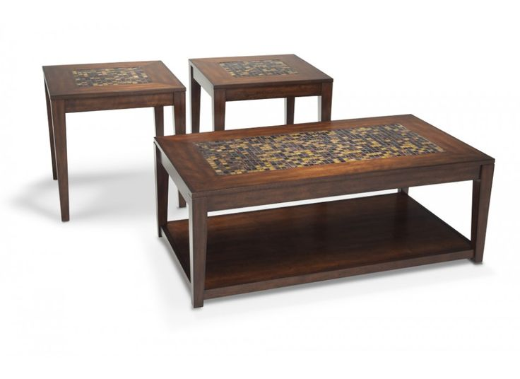 Harper coffee table set bobs coffee table sets and for Coffee tables bobs furniture